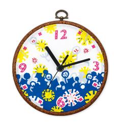 オリジナルプリント時計